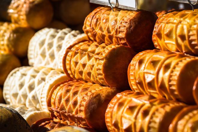 Oscypki, Korbacze, bundz, bryndza (sery z certyfikatem produktów naturalnych i regionalnych)